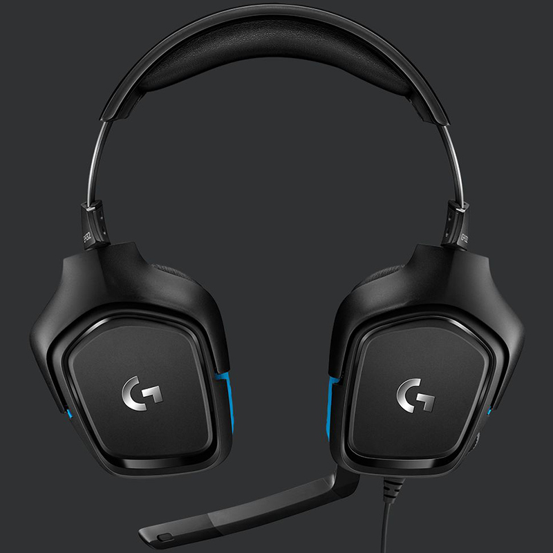Auriculares Logitech G432 PC/PS4/XBOX ONE/SWITCH 7 1   TecnoCity